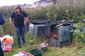 A fantastic system at the Community Garden - these type of bins are splendid