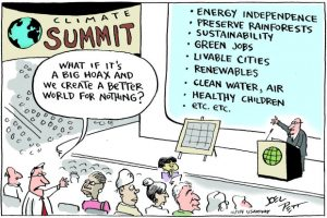 climatesummit what if it's all a big hoax