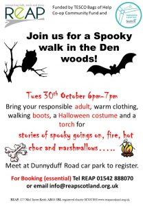 REAP's Den Woods Spooky Walk @ Dunnyduff Woods | Scotland | United Kingdom