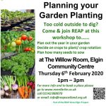 Planning your Garden Planting @ The Willow Room, Elgin Community Centre, Elgin