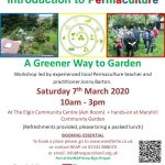 REAP's Introduction to Permaculture Workshop - A Greener way to garden!! @ The Ash Room, Elgin Community Centre